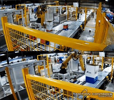 Fanuc M20ia case erecting
