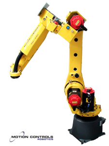 Click image to watch video of a FANUC M20ia doing robotic assembly.