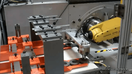 Robotic Machine Tending