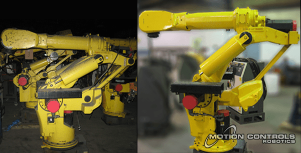 Refurbishing a robot before relocating can improve its operational efficiency.