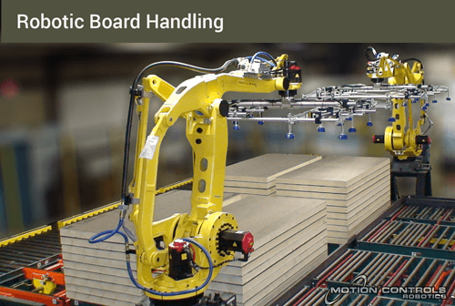 robotic board handling
