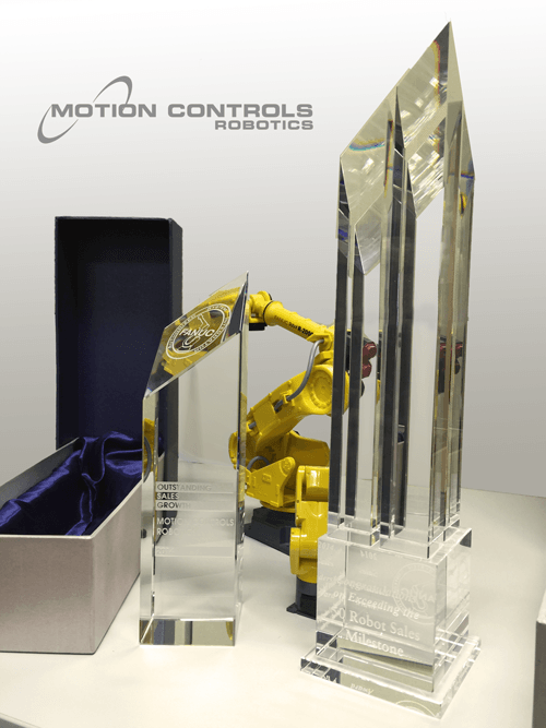 Motion Controls Robotics Receives Prestigious Awards from FANUC
