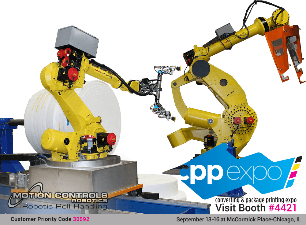 Motion Controls Robotics to Exhibit at CPP Expo