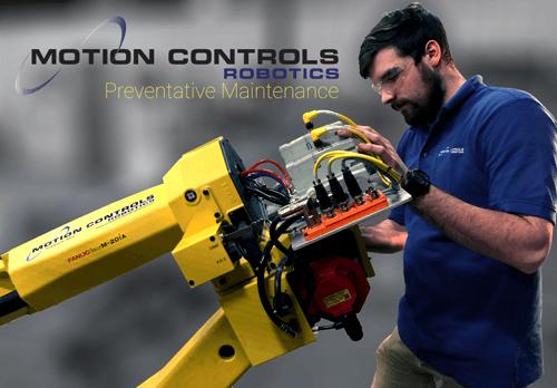 Robot Preventative Maintenance Motion Controls Robotics