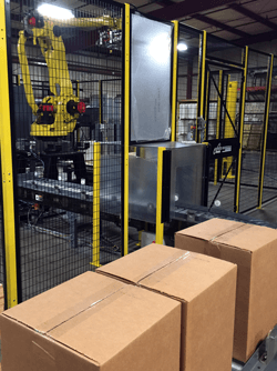 robotic palletizer system