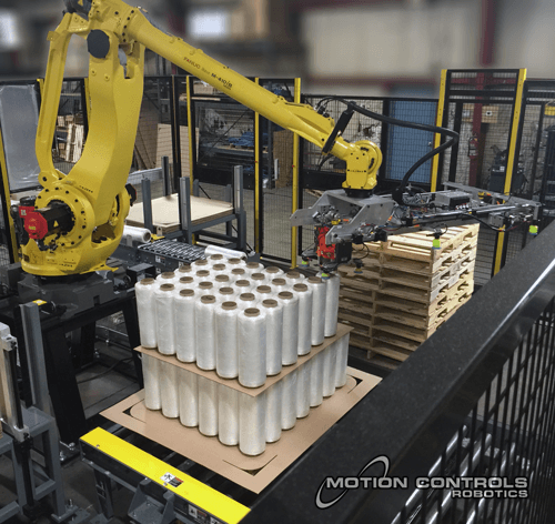 robot applications palletizing