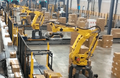 robotic order fulfillment