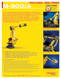 The Flexible yet Rigid FANUC M900 - Motion Controls Robotics