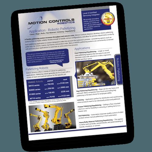 Mcri Robotic Brochures Motion Controls Robotics