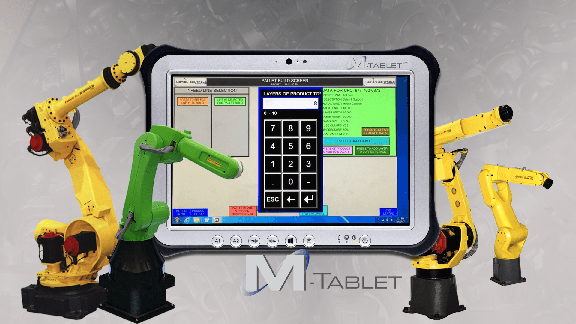 MCRI's M-Tablet Portable HMI