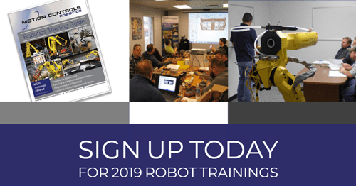 Robotics Training Get Operators Ready Motion Controls Robotics