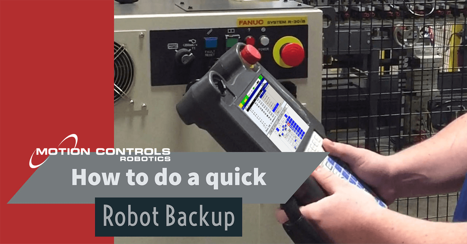 robot backup