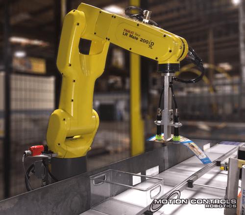 robotic label placement