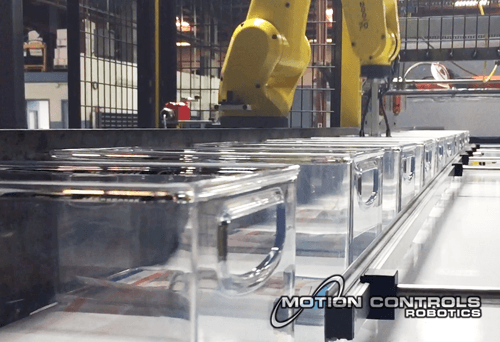 robotic container handling