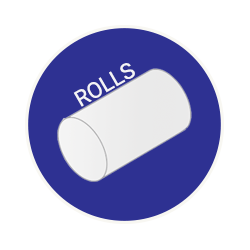 roll palletizing