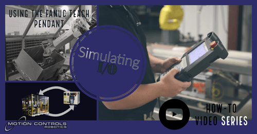 Simulate inputs and outputs on fanuc teach pendant motion controls simulate inputs and outputs on fanuc teach pendant motion controls robotics aloadofball