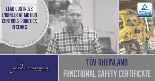 TUV Rheinland Functional Safety Certificate