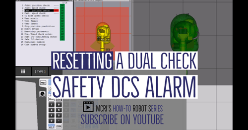 Resetting a Dual Check Safety DCS Alarm - Motion Controls