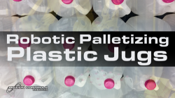 Plastic Jugs Palletizing