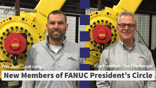 Lang and Ellenberger Join the FANUC President's Circle