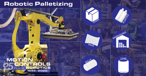 robot palletizing