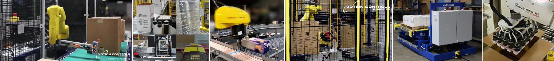 End of line packaging and palletizing solutions
