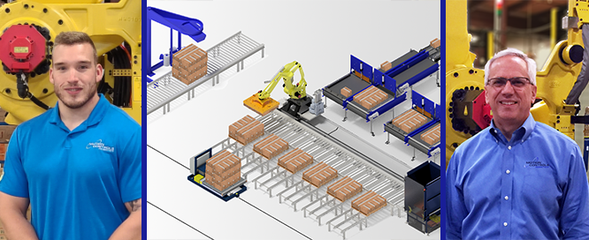 End Of Line Packaging And Palletizing